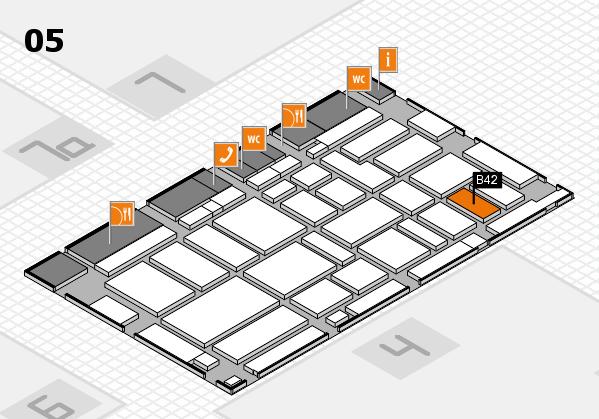 boot 2017 hall map (Hall 5): stand B42