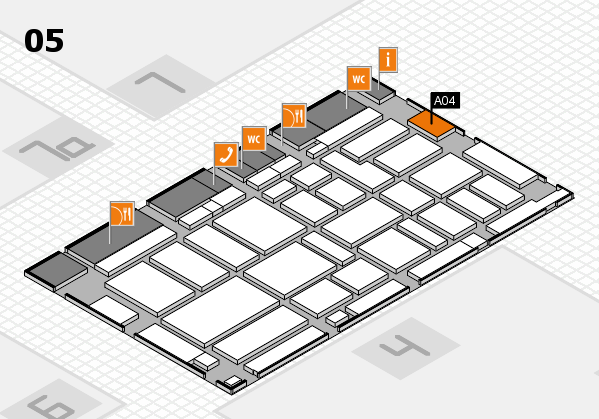 boot 2017 hall map (Hall 5): stand A04