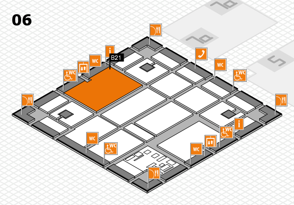 boot 2017 hall map (Hall 6): stand B21