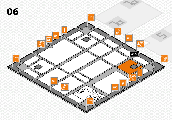 boot 2017 hall map (Hall 6): stand A59