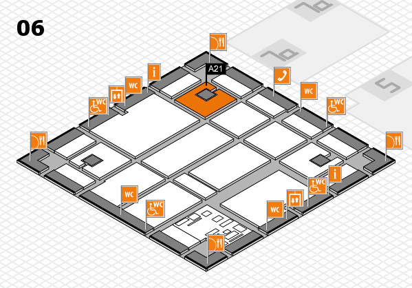 boot 2017 hall map (Hall 6): stand A21