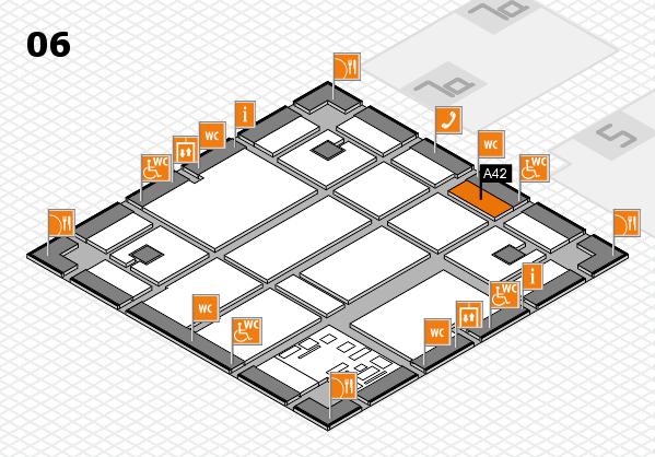 boot 2017 hall map (Hall 6): stand A42