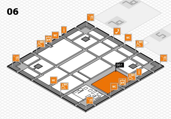 boot 2017 hall map (Hall 6): stand B61