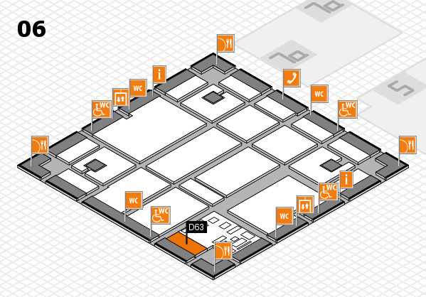boot 2017 hall map (Hall 6): stand D63