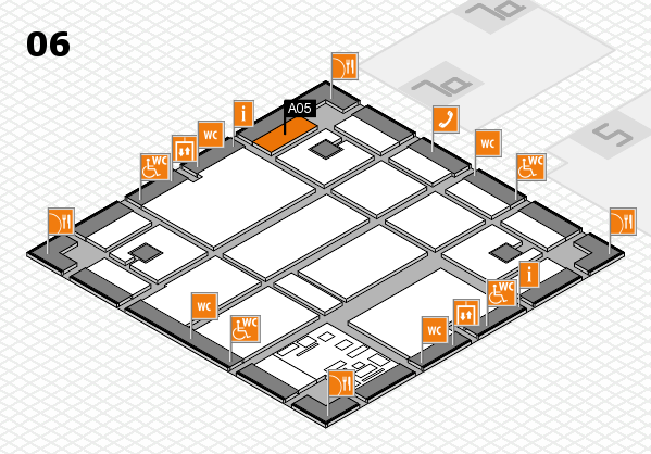 boot 2017 hall map (Hall 6): stand A05