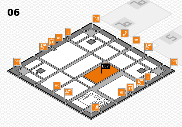 boot 2017 hall map (Hall 6): stand B57