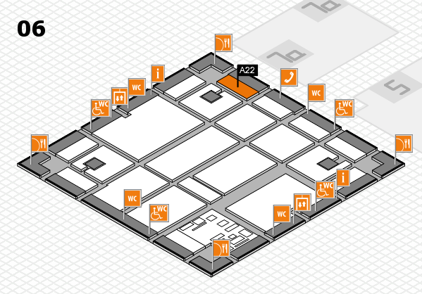 boot 2017 hall map (Hall 6): stand A22