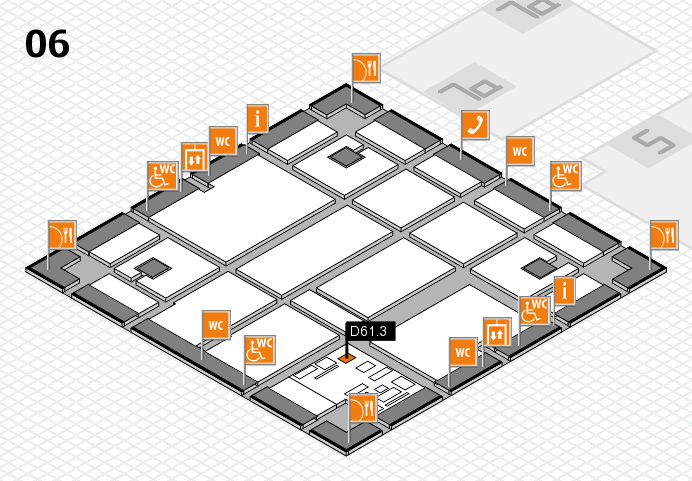 boot 2017 hall map (Hall 6): stand D61.3