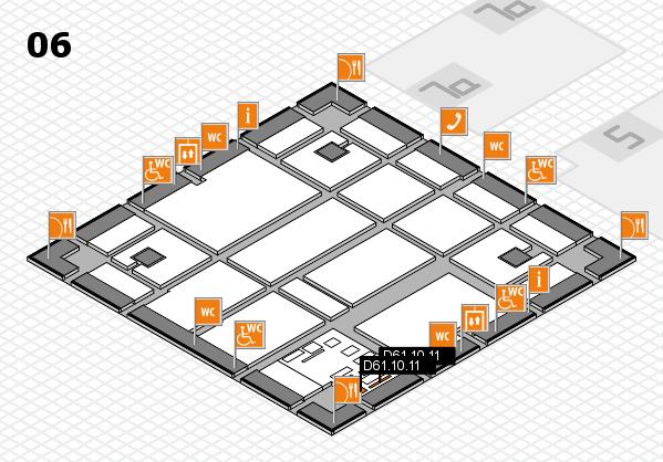 boot 2017 hall map (Hall 6): stand D61.10.11