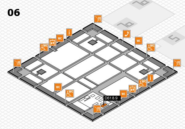 boot 2017 hall map (Hall 6): stand D61.8.9