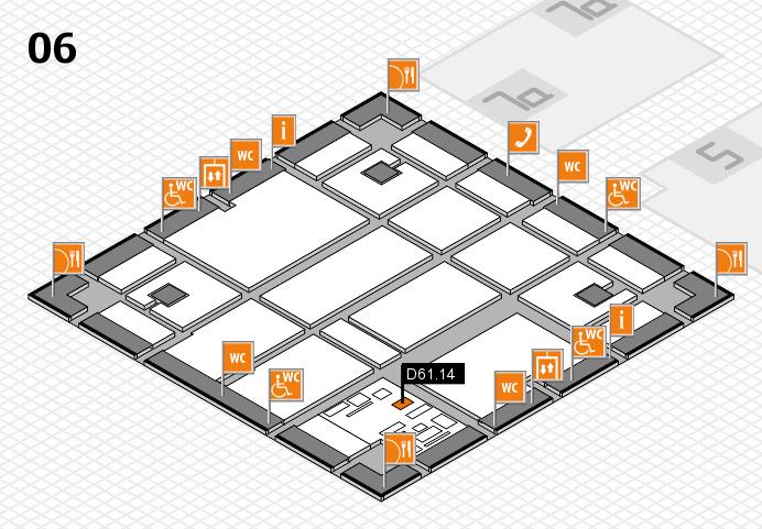 boot 2017 hall map (Hall 6): stand D61.14