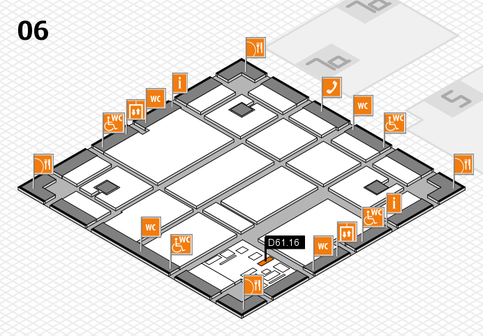 boot 2017 hall map (Hall 6): stand D61.16