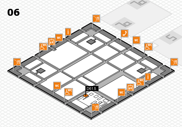 boot 2017 hall map (Hall 6): stand D61.5