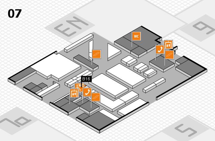 boot 2017 hall map (Hall 7): stand B16