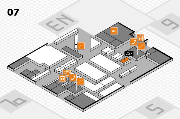 boot 2017 hall map (Hall 7): stand D27