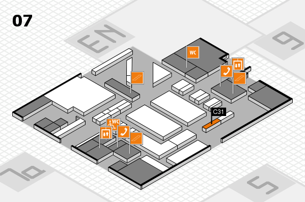 boot 2017 hall map (Hall 7): stand C31