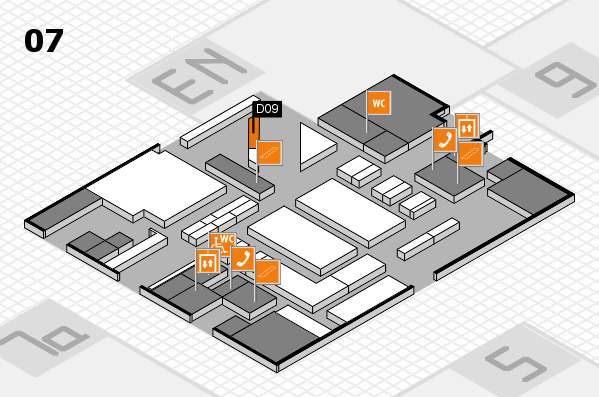 boot 2017 hall map (Hall 7): stand D09