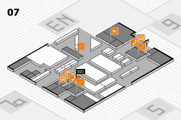 boot 2017 hall map (Hall 7): stand B20
