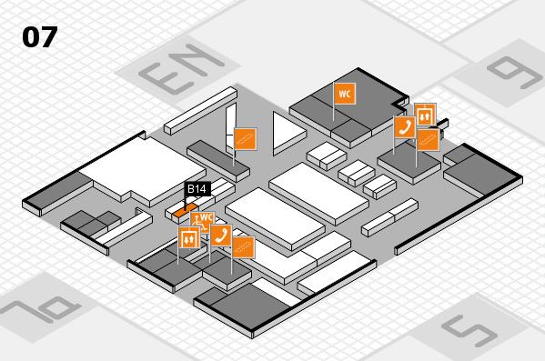 boot 2017 hall map (Hall 7): stand B14