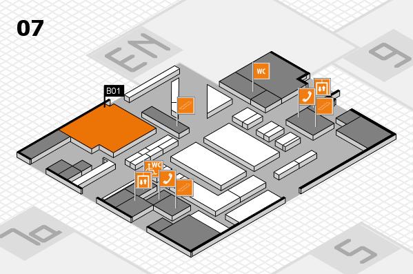 boot 2017 hall map (Hall 7): stand B01