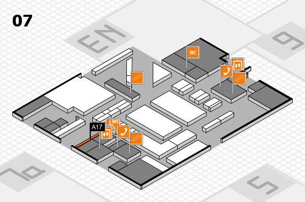 boot 2017 hall map (Hall 7): stand A17