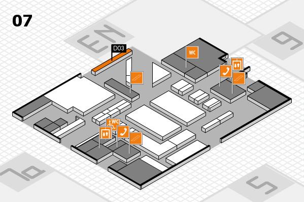 boot 2017 hall map (Hall 7): stand D03