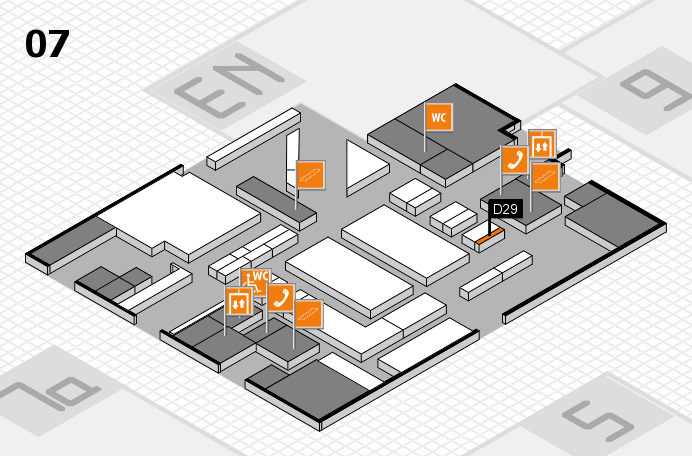 boot 2017 hall map (Hall 7): stand D29