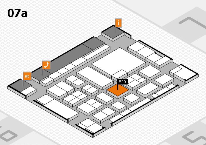 boot 2017 hall map (Hall 7a): stand E20