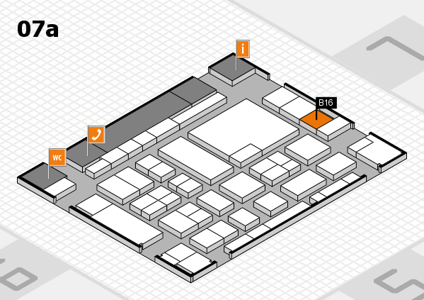 boot 2017 hall map (Hall 7a): stand B16