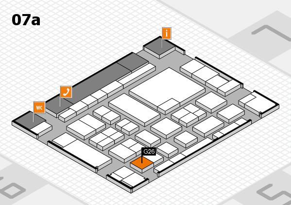 boot 2017 hall map (Hall 7a): stand G26
