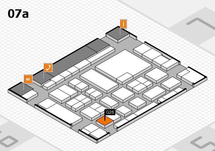 boot 2017 Hallenplan (Halle 7a): Stand G26