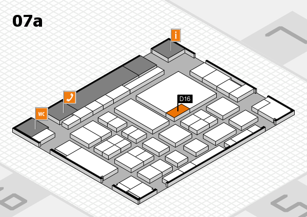 boot 2017 hall map (Hall 7a): stand D16
