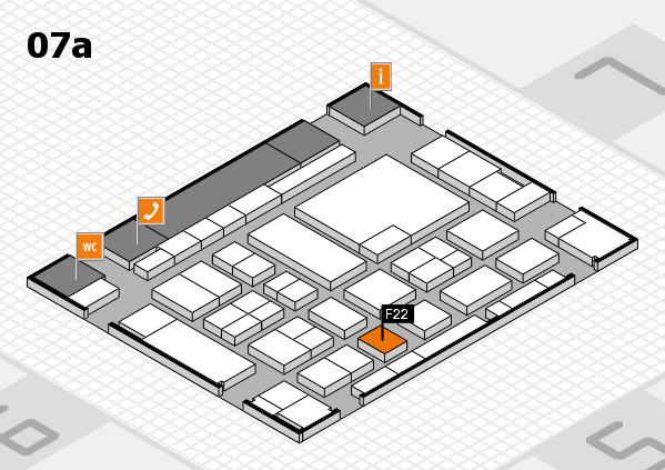 boot 2017 hall map (Hall 7a): stand F22