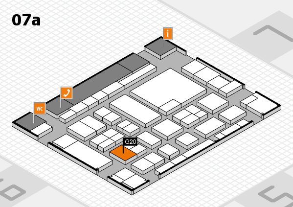 boot 2017 hall map (Hall 7a): stand G20