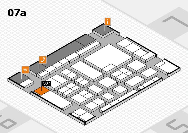 boot 2017 hall map (Hall 7a): stand G07