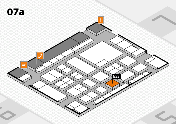 boot 2017 Hallenplan (Halle 7a): Stand E22