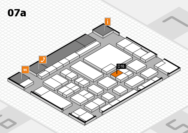 boot 2017 hall map (Hall 7a): stand D18