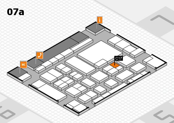 boot 2017 hall map (Hall 7a): stand C17