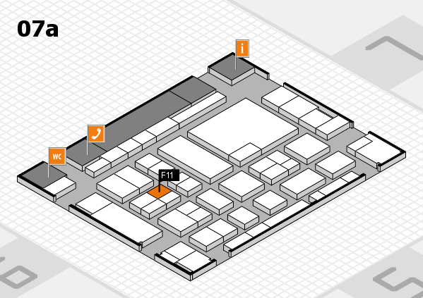 boot 2017 hall map (Hall 7a): stand F11