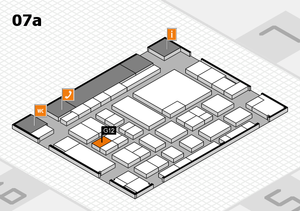 boot 2017 hall map (Hall 7a): stand G12