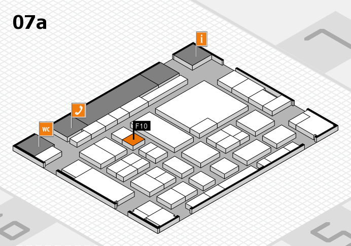 boot 2017 hall map (Hall 7a): stand F10