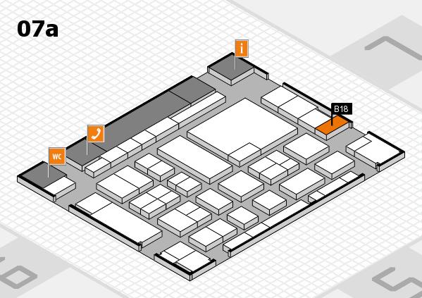 boot 2017 hall map (Hall 7a): stand B18