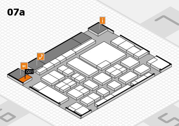 boot 2017 hall map (Hall 7a): stand G01