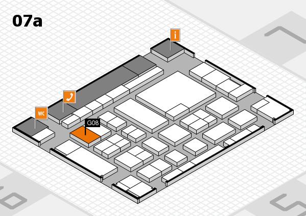 boot 2017 hall map (Hall 7a): stand G08