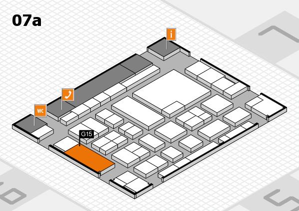 boot 2017 Hallenplan (Halle 7a): Stand G15