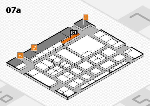 boot 2017 hall map (Hall 7a): stand B01