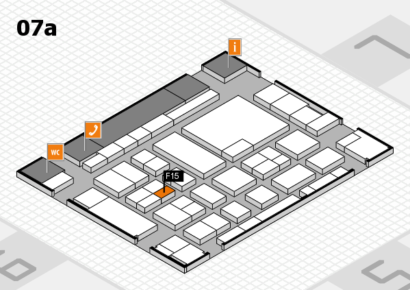 boot 2017 hall map (Hall 7a): stand F15