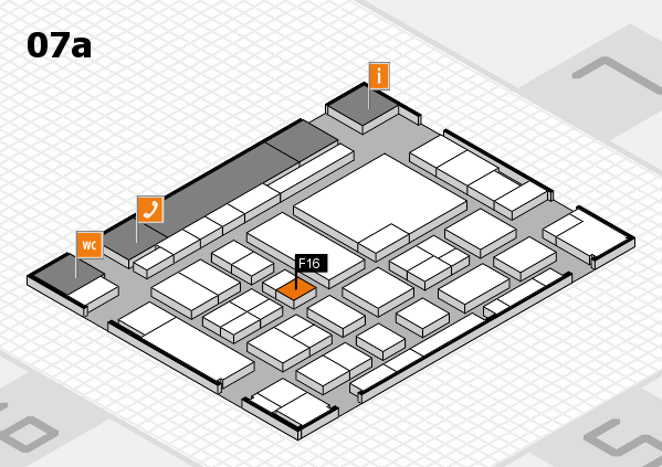 boot 2017 hall map (Hall 7a): stand F16
