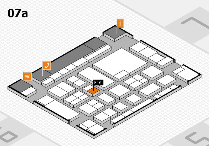 boot 2017 hall map (Hall 7a): stand F16