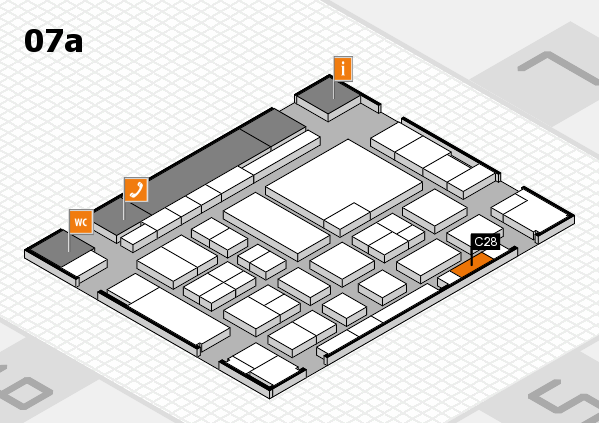 boot 2017 hall map (Hall 7a): stand C28